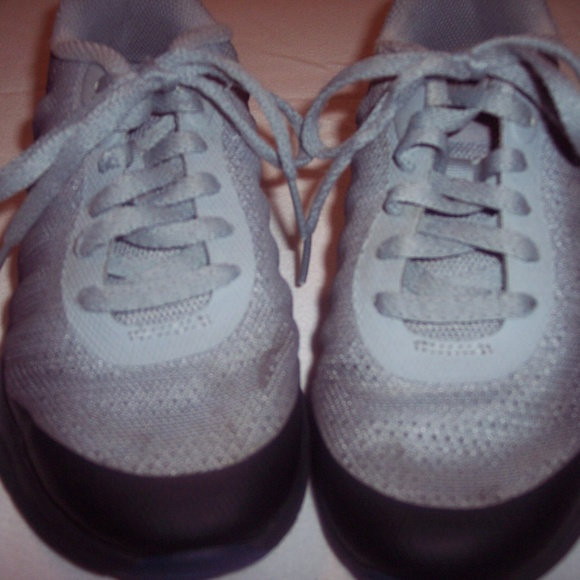 Nike Other - Nike Gray Blue Black Sneakers Size 13.5C